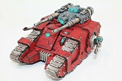 Warhammer Space Marines Legion Sicaran Battle Tank Well Painted