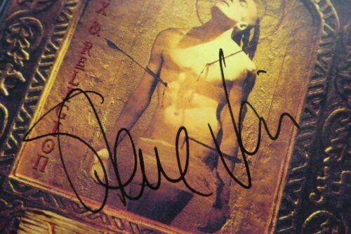 Steve Vai AUTOGRAPHED Sex & Religion CD 1993