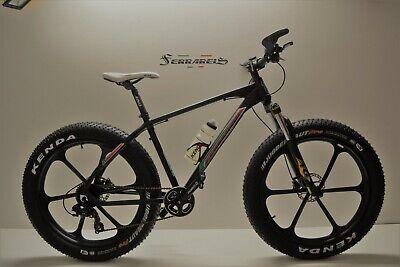 Montain bike fat bike 26 in alluminio 9v shimano front disci idraulici