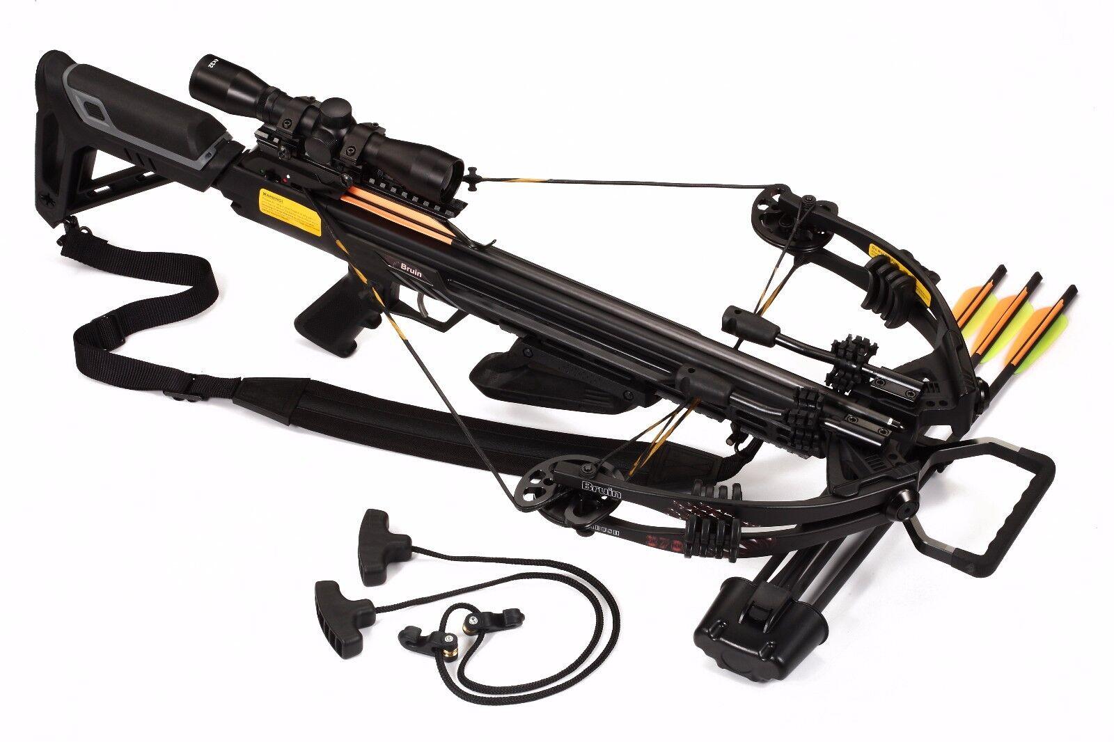 Bruin Ambush 370 Ready To Hunt Crossbow Package w/ 3x32 Illuminated Scope