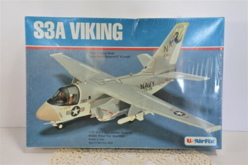 USAirfix S3A Viking 1/72 Scale Plastic Model Kit #5012 - Factory Sealed       D4