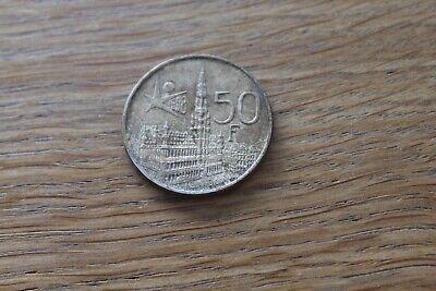 ancienne pièce de monnaie BELGIQUE EXPO 58