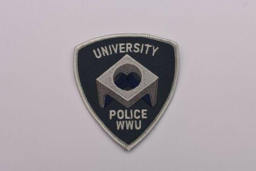 Collectible Western Washington University WWU Police Patch