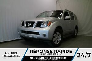 Nissan Pathfinder 4 portes, S, 4 RM, boîte automatique