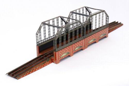 AC1955: Vintage Bing Gauge1 (3 Rail-Electric) Double Girder Bridge 10/656/1