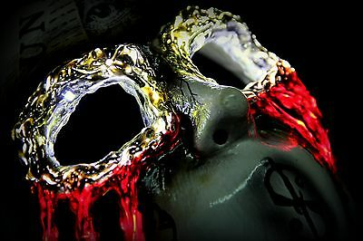 Hollywood Undead J-Dog led mask (Day of the dead) - Hollywood Undead Mask