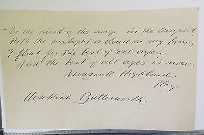 Hezekiah Butterworth 19th Century AQS