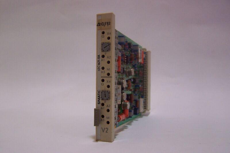 Siemens Simatec C1 Module 6ec1621-0a