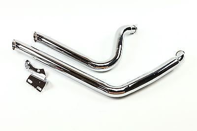 """Harley-Davidson Dyna Street Sweeper Exhaust System  FXD 2-1/4"""" Straight Pipes HD"""