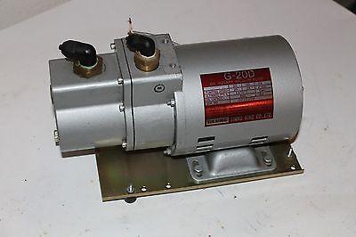 Ulvac G-20d Vacuum Pump