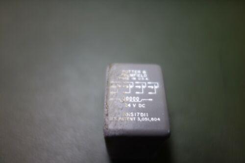 Potter Brumfield P&B KHS17D11 24Vdc Hermetically Sealed 4PDT NOS Relay