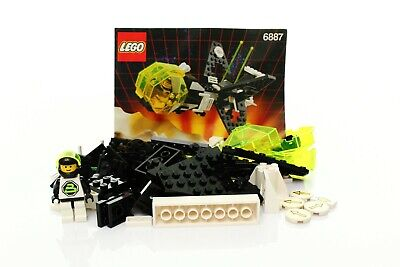 Lego Space Blacktron II Set 6887 Allied Avenger 100% complete + instr. 1991
