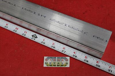1-12 X 2 Aluminum Flat Bar 30 Long 6061 T6511 Plate Mill Stock
