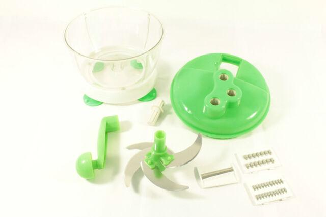 Multi Purpose Manual Food Processor Vegetable Slicer Chopper Boxed