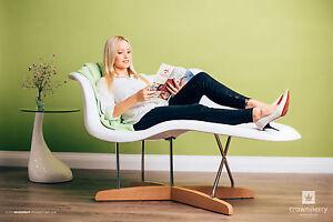 Eames la chaise, emotion blumy coat Design ausgefallene Liege