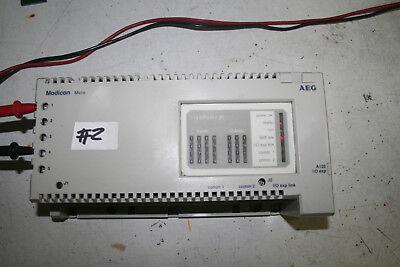 Schneider Automation Modicon Micro Aeg 110 Cpu 512 00 Plc Controller 2