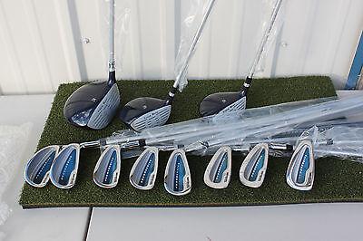 Wilson Mens Pro 3 Woods 8 Irons Full Golf Set RH Right Hand