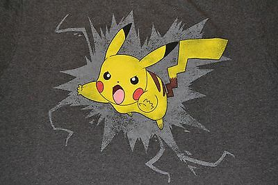 Pokemon Pikachu Character Pika T-Shirt Officially Licensed Merchandise Adult Tee