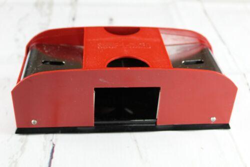 Vintage Playing Card Shuffler Waco Japan SHUF-L-CARD Battery Powered Red Works