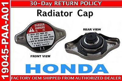 - Genuine Honda Radiator Cap (Denso) 19045-PAA-A01    FACTORY OEM