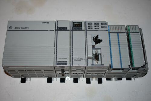COMPACTLOGIX ALLEN BRADLEY RACK COMPLETE  SYSTEM  1768-L43 ser A  SYSTEM