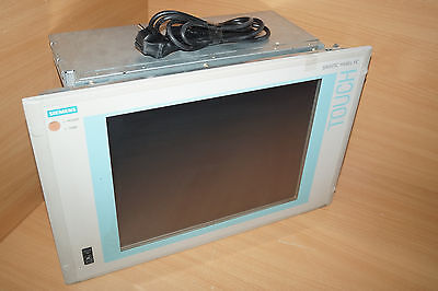 Siemens Simatic Panel Pc870 A5e00165166 Industrial Pc Touch 15 Tft
