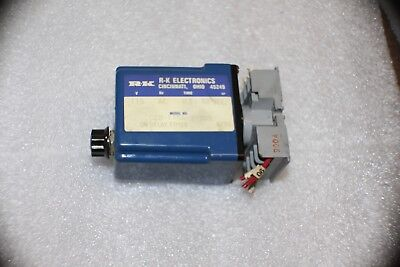 RK Electronics On Delay Timer  CCB-115A-2-30S  0.3-30 sec.  w/holder