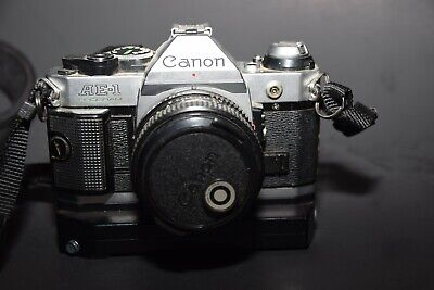 Canon AE-1 Program 35mm SLR Film Camera with 50 mm 1.8 lens