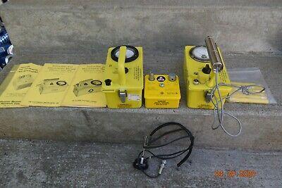 Vintage Victoreen Geiger Counters Cd V-700 Cd V-715 750-5b Cd V-742 Manuals Look