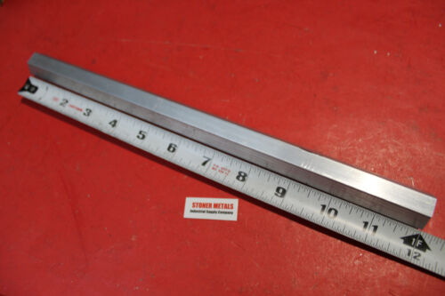 "HEX 3/4"" ALUMINUM 6061 BAR 12"" long T6511 SOLID LATHE STOCK .75 Flat to Flat"
