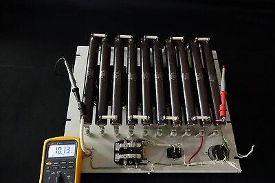 10k Ohm 225 Watt Fan Cooled High Voltage Resistor Bank