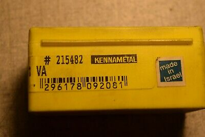 Kennametal Lt-22er 5acme Kc730 Carbide Inserts Lot Of 3
