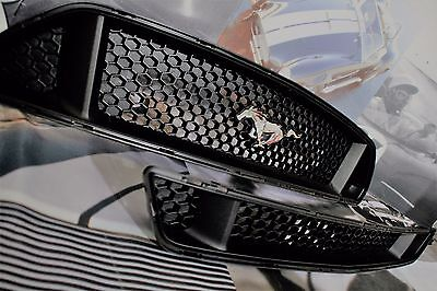 2015-2017 Ford Mustang GT Upper/Lower Grill Insert -Take Off-