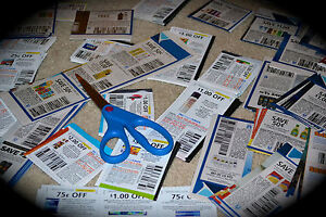 LOT OF 100 GROCERY COUPONS! MORE THAN $100 IN SAVINGS! ALREADY CLIPPED FOR YOU!
