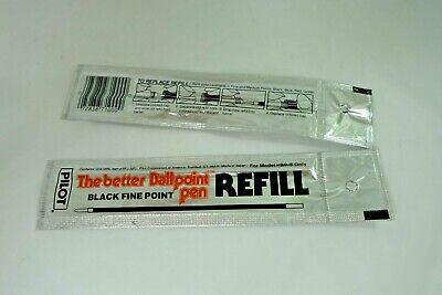 2 - Pilot Refill Black Fine Point For Bp-s The Better Ballpoint Pen Rfj-3f