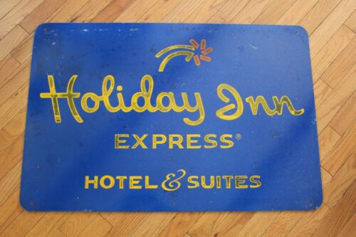 "Original Holiday Inn Express Metal Highway Sign - 36""x24"""