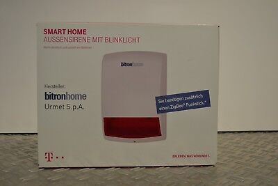 Telekom Smart Home Außensirene Zigbee
