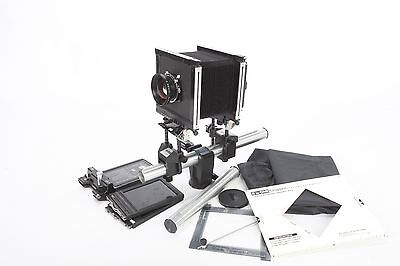 Sinar F 4x5 Large Format View Camera  with lens outfit
