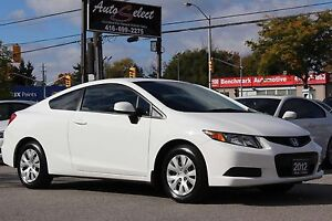 2012 Honda Civic ONLY 84K! **2 DR COUPE** CLEAN CARPROOF