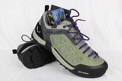 New Salewa Women's Firetrail GTX 3 Waterproof Hiking Trail 10m Siberia Purple