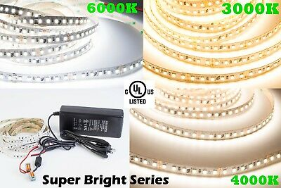 (UL Listed Super Bright LED LIGHT Strip 24V 95 CRI for Showcase Under cabinet)