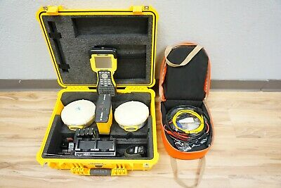 Trimble Dual 5800 L1 L2 Gps Rtk Base Rover Survey 450-470mhz W Hpb 450 Tsc2
