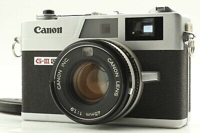 【Exc+++++】Canon Canonet QL19 G-III Rangefinder Camera 45mm F1.9 From Japan #640