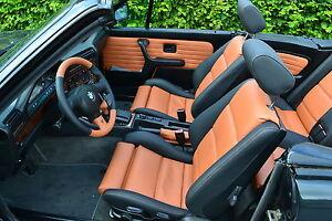 BMW E30 Cabrio  Lederausstattungen