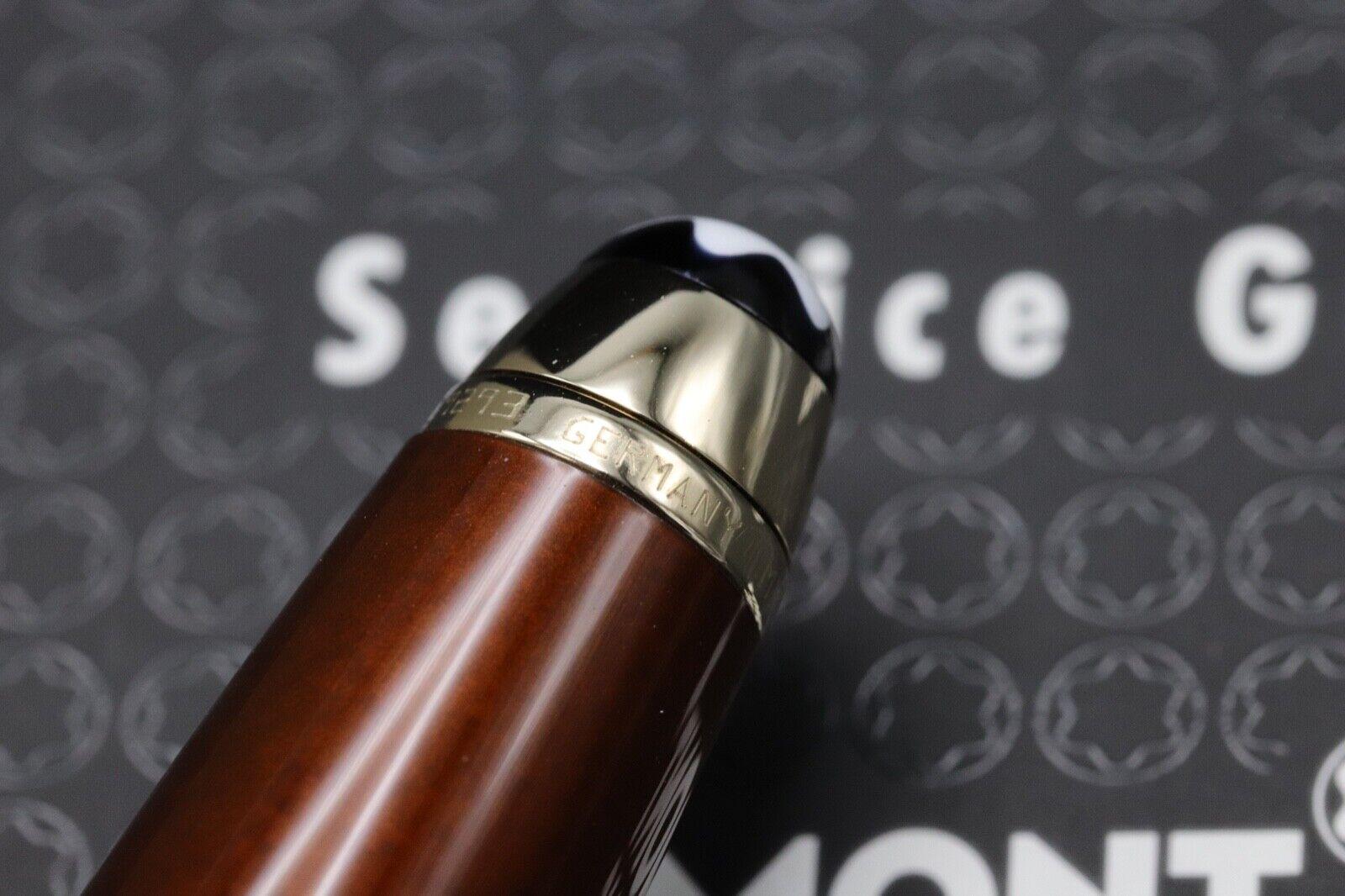 Montblanc Meisterstuck 163 Classique Solitaire Citrine Rollerball Pen 5