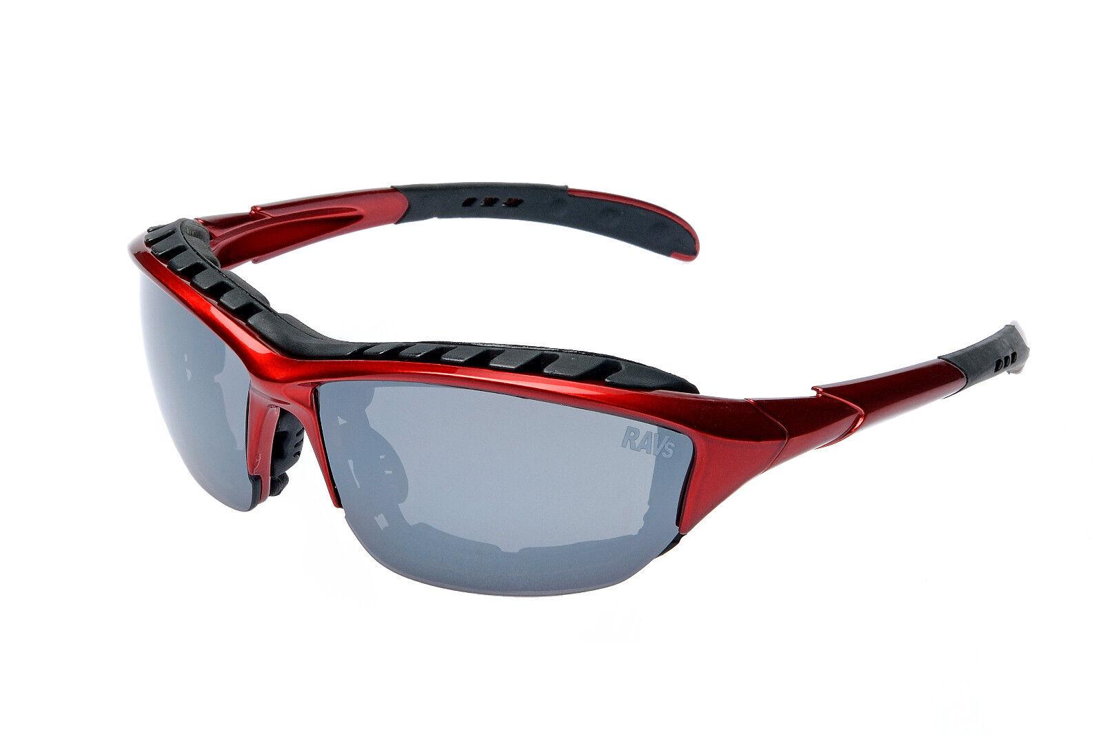 Brillen Dames: accessoires Ravs Rabrille Fahrradbrille Radsportbrille Schutzbrille Triathlonbrille blau