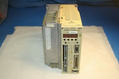 Yaskawa Servo Pack Sgdm-15ada Ver 06008-4- Output 11.6a 0-230v