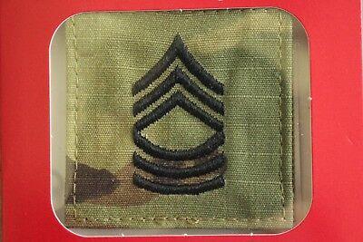 U.S ARMY AUFNÄHER KLETT PATCH SECOND LIEUTENANT 2LT O-1 RANK MULTICAM OCP