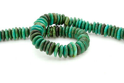 Howlite Chip Beads - Natural Howlite Beads, Rough Flat Nugget Chip Turquoise Beads (Assorted Size)