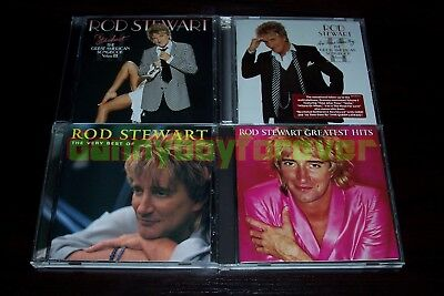 Rod Stewart 4 CD Greatest Hits The Very Best Of Great American Songbook 2 &